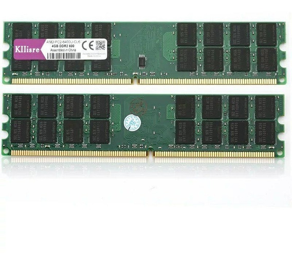 Memória 16gb Ddr2 Hynix Kit (4x4 Gb) 800mhz Pc2-6400u Pc Amd