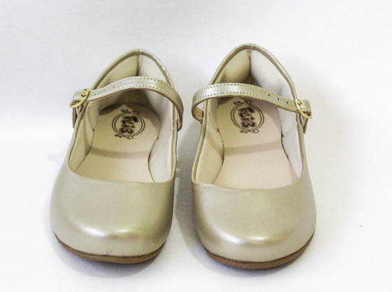 Sapatilha Infantil Princesa Feminina Festa Boneca 404189