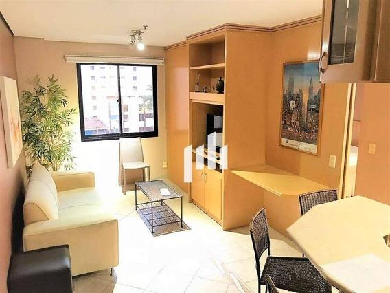 Flat Com 1 Dormitório À Venda, 38 M² Por R$ 473.000 - Moema Índios - São Paulo/sp - Fl0062