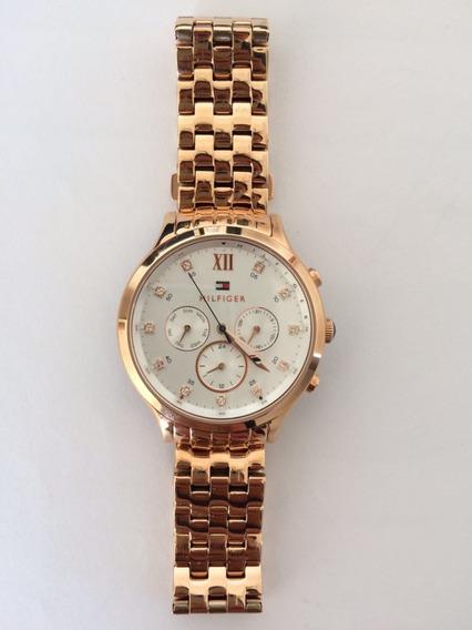 Relógio Tommy Hilfiger Feminino Aço Rosé 1781611 + Garantia!