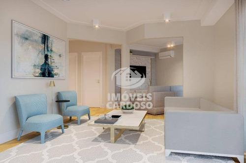 Imagem 1 de 9 de Apartamento Com 4 Dormitórios À Venda, 169 M² Por R$ 2.450.000 - Santa Cecília - São Paulo/sp - Ap3432