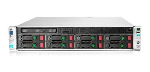 Servidor Hpproliant Dl380p G8 Xeon Quadcore 16gbsem Proces