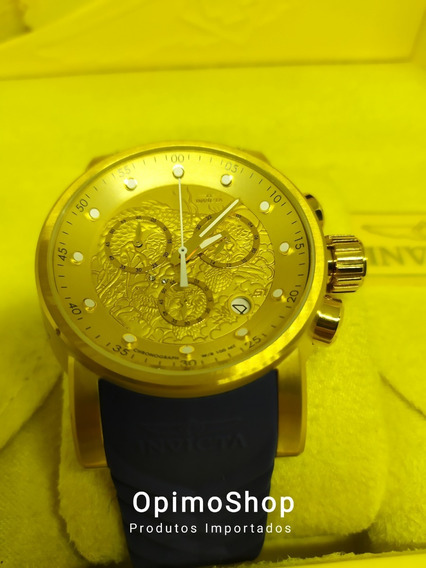 Invicta S1 Rally Dragon Chronograph 28187, Ouro18k, Eua
