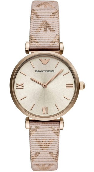 Reloj Análogo Marca Armani Modelo: Ar11126 Color Oro Rosa Pa