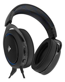 Audífonos gamer Corsair HS50 blue