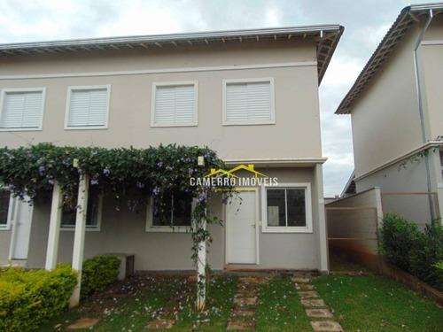 Casa Com 3 Dormitórios À Venda, 92 M² Por R$ 385.000,00 - Chácara Letônia - Americana/sp - Ca0365