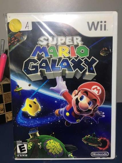 Super Mário Galaxy - Jogo De Nintendo Wii Seminovo-rf21