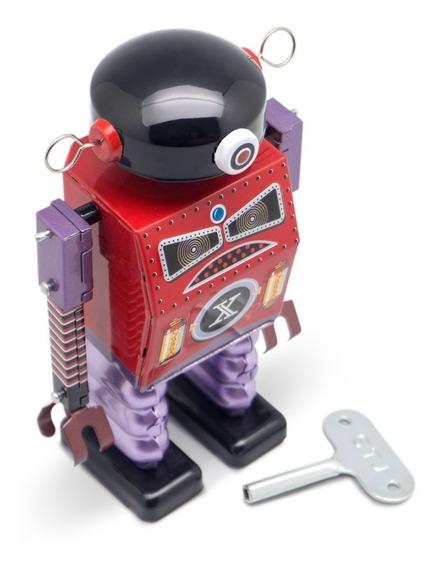 Robot A Cuerda De Hojalata Retro Tin Toy Dark Templar Gato