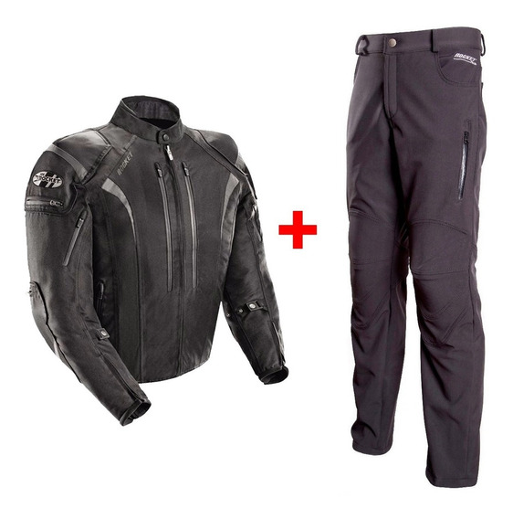 Campera Joe Rocket Atomic 5.0 Pantalon Softshell Para Moto