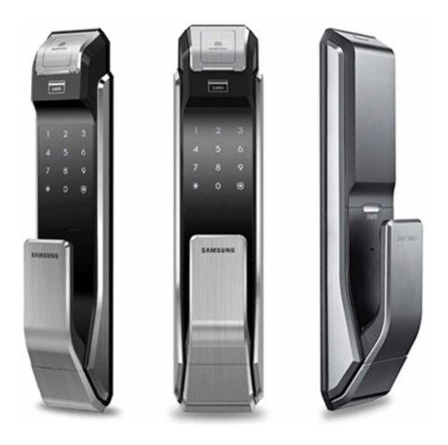 Cerradura Samsung Shs-p718 Huella Biometrica Llavero-oficial
