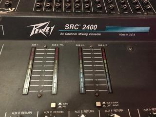 Consola 24 Canales Peavey Src-2400 Vendo/permuto Con Anvil