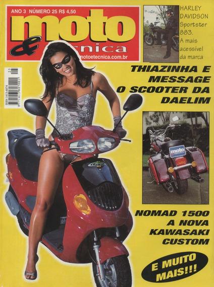 Moto & Técnica N°25 Daelim Message Nomad 1500 Sportster 883