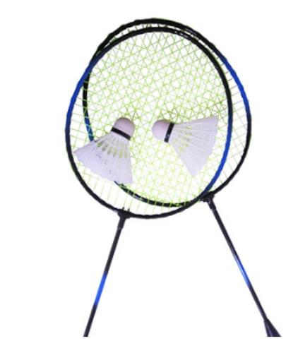 Conjunto Profissional Badminton 2//4 Player Pro Raquete Peteca Bolsa Jogos ao ar livre