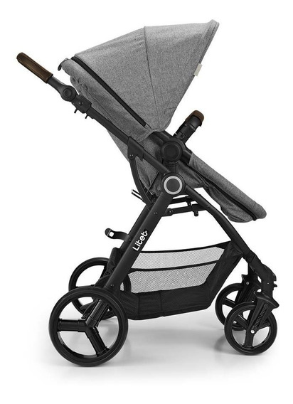 Carrinho De Bebê Litet Dayone 0-15kg Cinza - Bb689