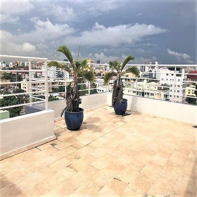 Penthouse En Venta En Mirador Norte Santo Domingo