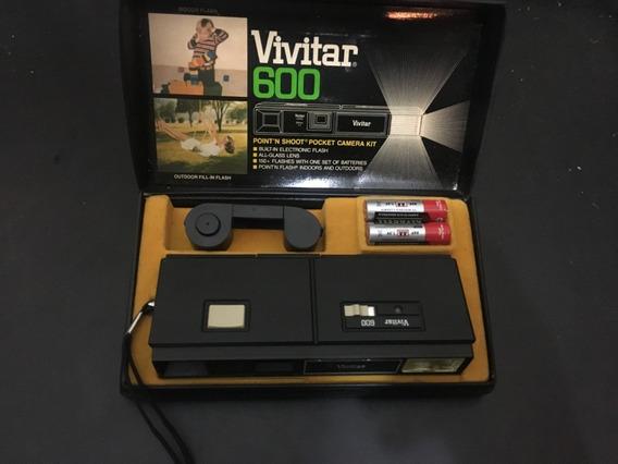 Rara Maquina Fotografica Vivitar 600 Na Case Original