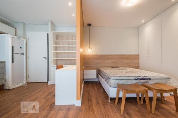 Apartamento Para Aluguel - Campo Belo, 1 Quarto, 39 - 893037931
