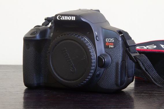 Câmera Canon Eos Rebel T4i + Lente Ef 50mm 1.8 + Sd 16gb