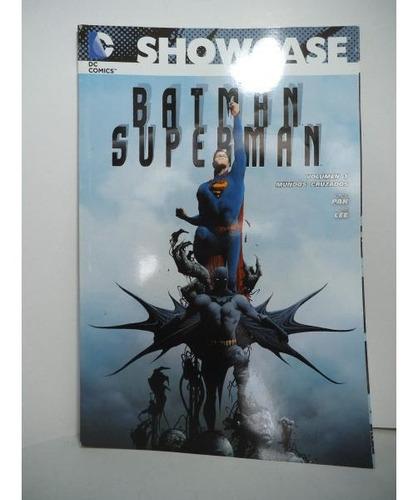 Batman Superman Vol. 1 Mundos Cruzados Showcase Televisa