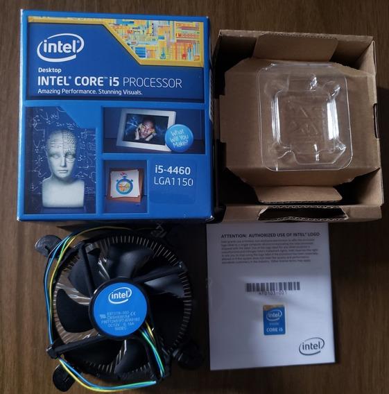 Caixa Processador + Cooler Intel Core I5 4460 Lga 1150