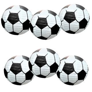 6pcs Premium 12 '' Fútbol Fútbol Juego De Linte...