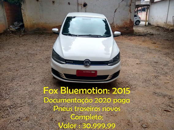 Fox Bluemotion 2015, Completo, 2020 Pago