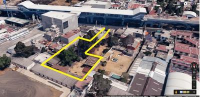Renta Terreno Comercial Sobre Av. Tláhuac