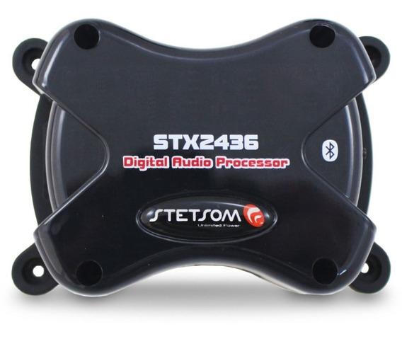 Processador De Áudio Stetsom Stx2436 Bluetooth
