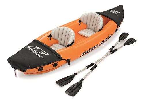 Kayak Inflable 2 Plazas Bestway Lite-rapid X2 Con Remos