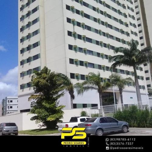 Apartamento Com 2 Dormitórios À Venda, 59 M² Por R$ 270.000 - Água Fria - João Pessoa/pb - Ap3939