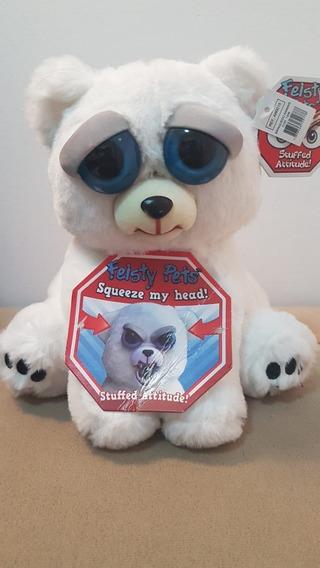 Pelúcia Feisty Pets Urso Polar - Promoção
