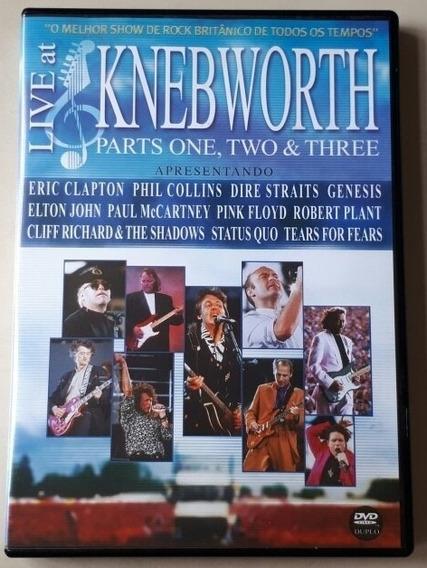Dvd Duplo Live At Knebworth - Parts: 1, 2 & 3 - Original