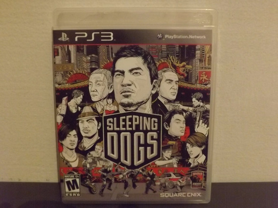 Ps3 Sleeping Dogs - Completo - Aceito Trocas...