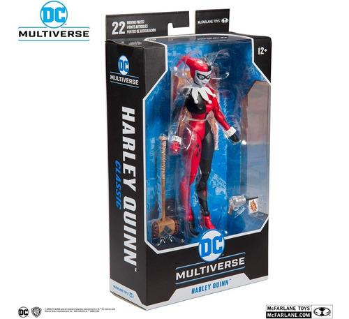 Dc Multiverse - Harley Quinn - 22 Puntos De Articulación
