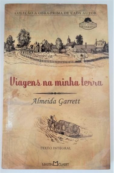 Livro Viagens Na Minha Terra - Martin Claret - Lacrado