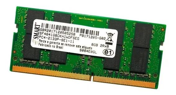 Memória Notebook 16gb Smart 2x8gb Ddr4 2133mhz
