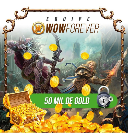 50k - Wow Gold Azralon, Ouro Wow, World Of Warcraft.