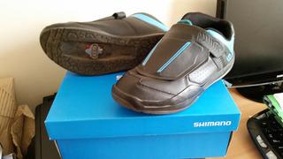 Zapatillas Fijación Shimano Am-9, Mtb
