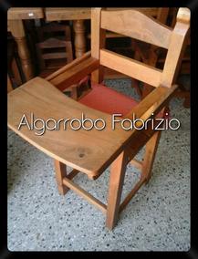 Silla De Bebe Alta Algarrobo