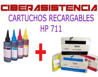 Cartuchos Recargables Hp 711