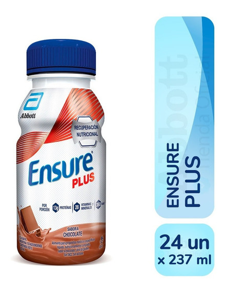 Ensure Plus 237 Ml Pack X 24 Un. Varios Sabores