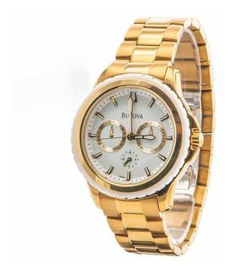 Relógio Bulova Dourado Wb22177h