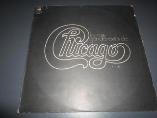 Chicago - Los Mas Grandes Exitos De * Disco De Vinilo