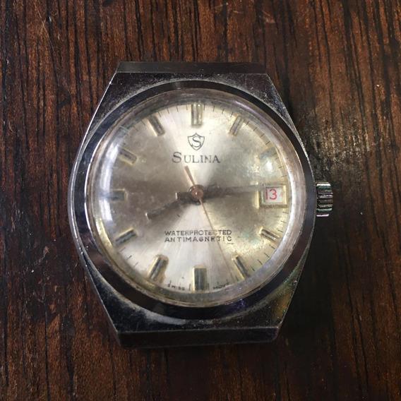 Relógio Sulina De Pulso Antigo Ñ Automatic 031