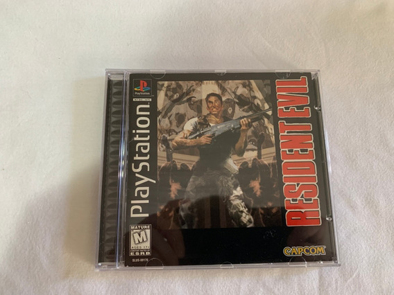 Resident Evil Ps1 Original Completo Americano