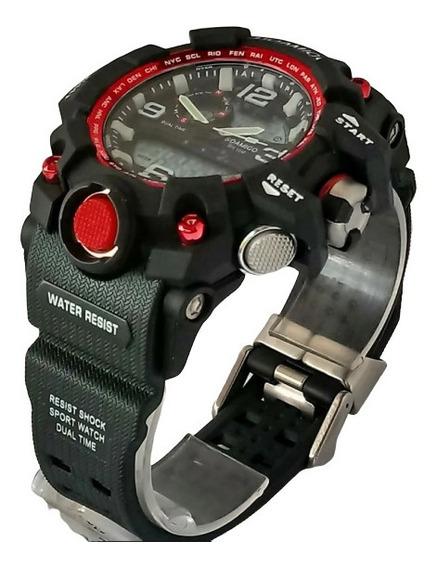Relógio Masculino Barato Digital Analogico Aprova D