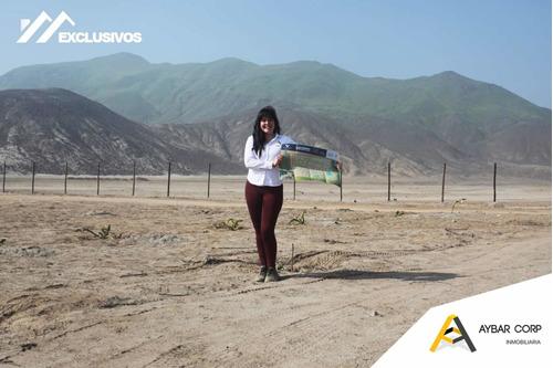Imagen 1 de 9 de Terrenos En Huaral