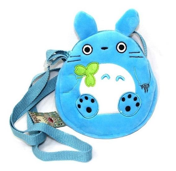 Bolsa Ombro Azul Anime Meu Vizinho Totoro My Neighbor Totoro