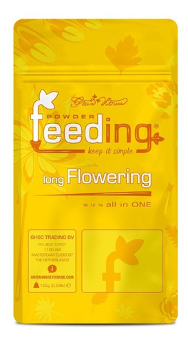 Imagen 1 de 2 de Nutrientes Hidropónicos Green House Feeding Long Flowering