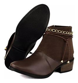 Calçados Feminino Bota Coturno Botinha Feminina Promoção